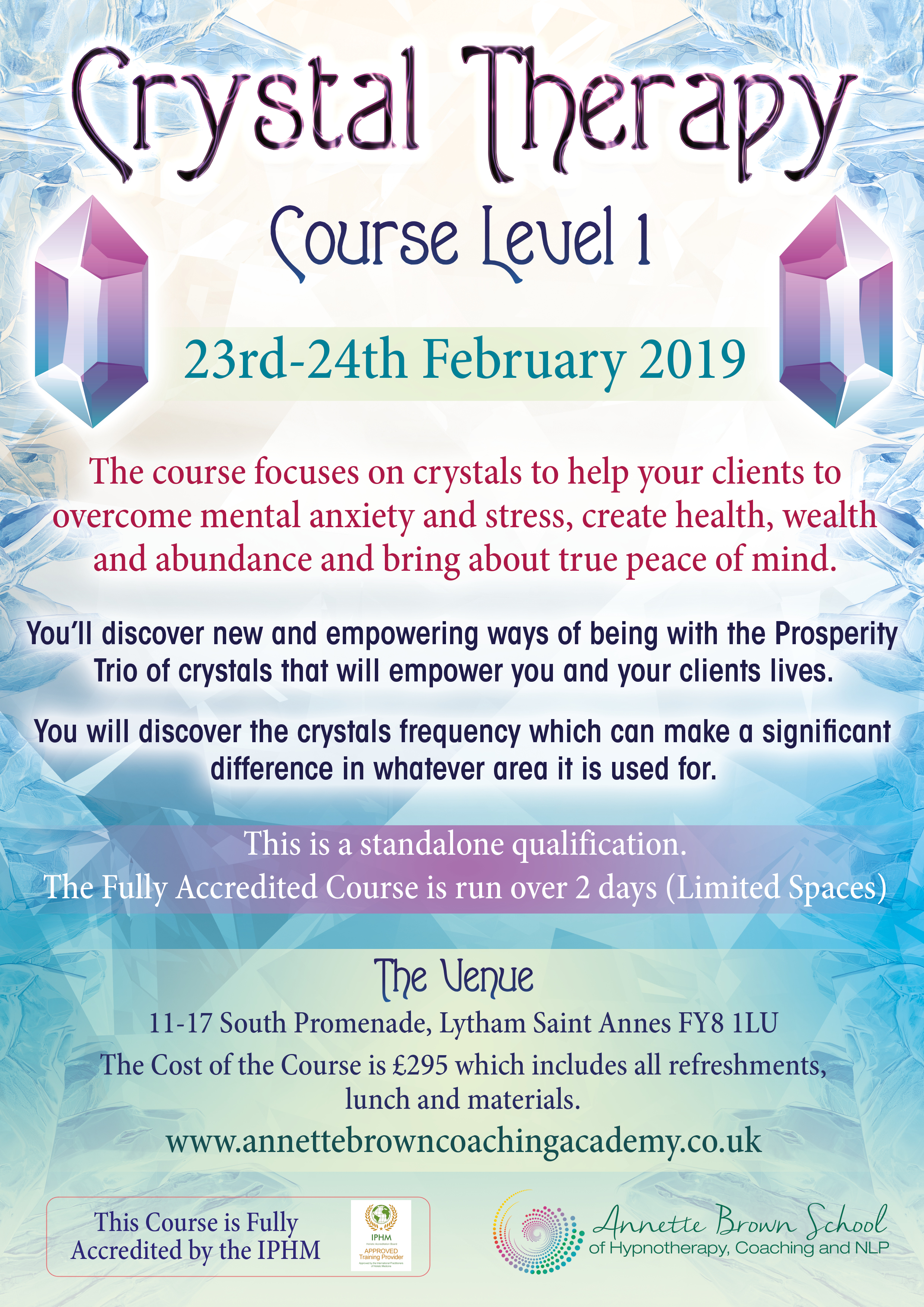 Crystal Therapy Training Course