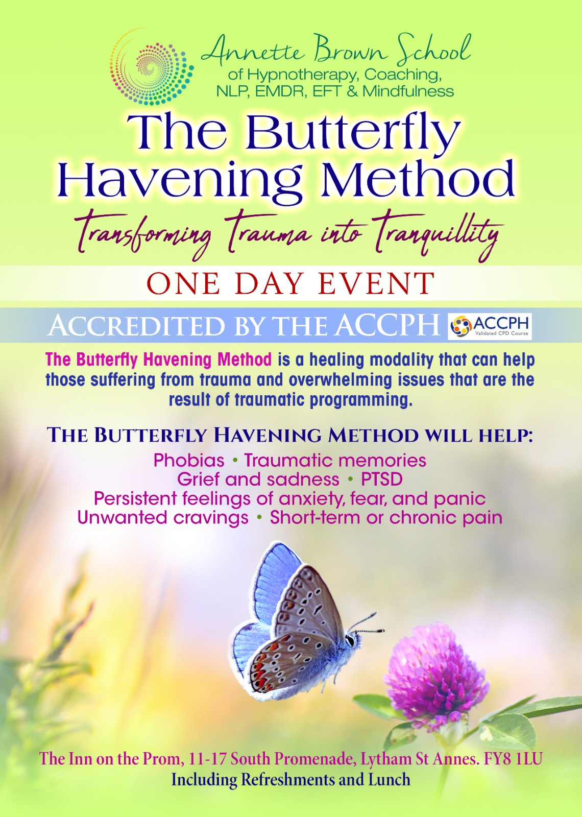 The Butterfly Havening Method